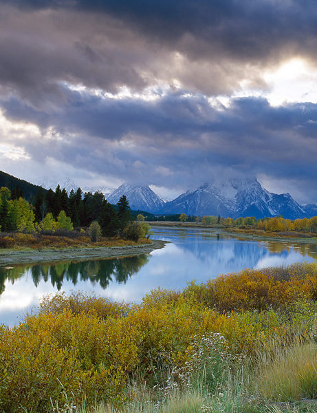 ox bow bend landscape photography