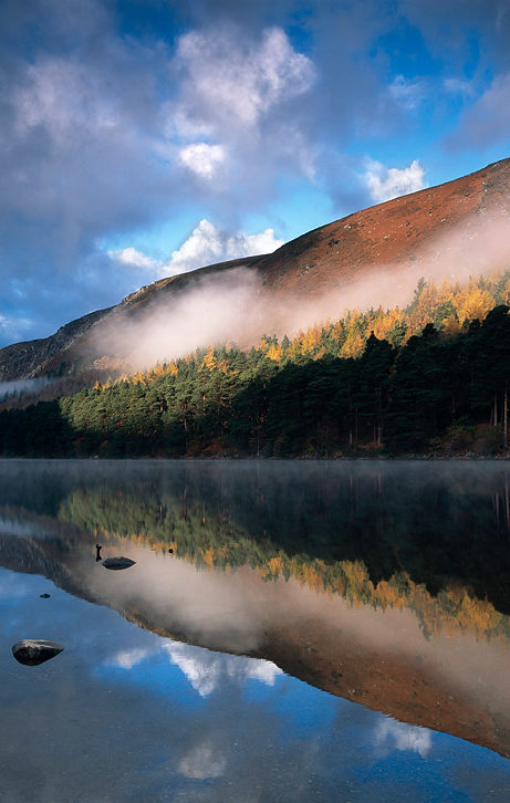 glendalough sunrise photograph