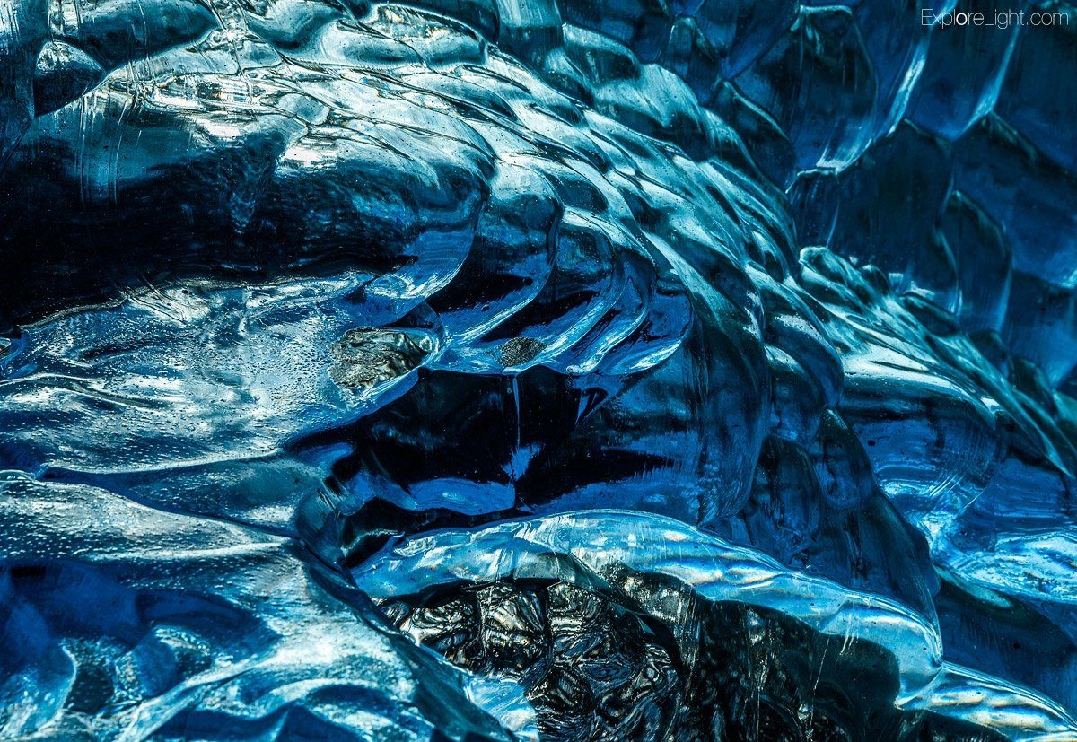 So may patterns ... patterns patterns.. You have to go and see the ice in Iceland..