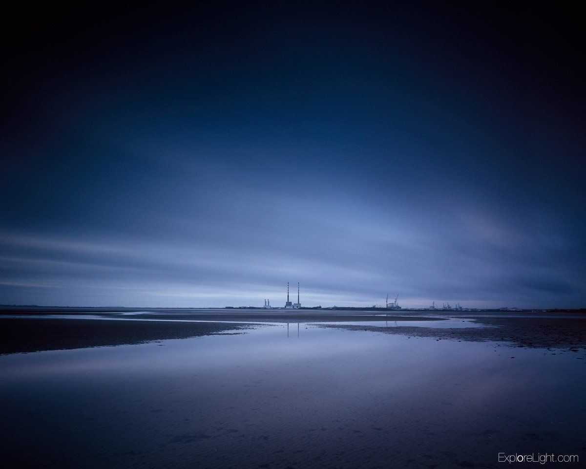8 minute exposure of Poolbeg on my 5 x 4 film camera. The film has a really organic blue at these lengths.. Hope you enjoy..